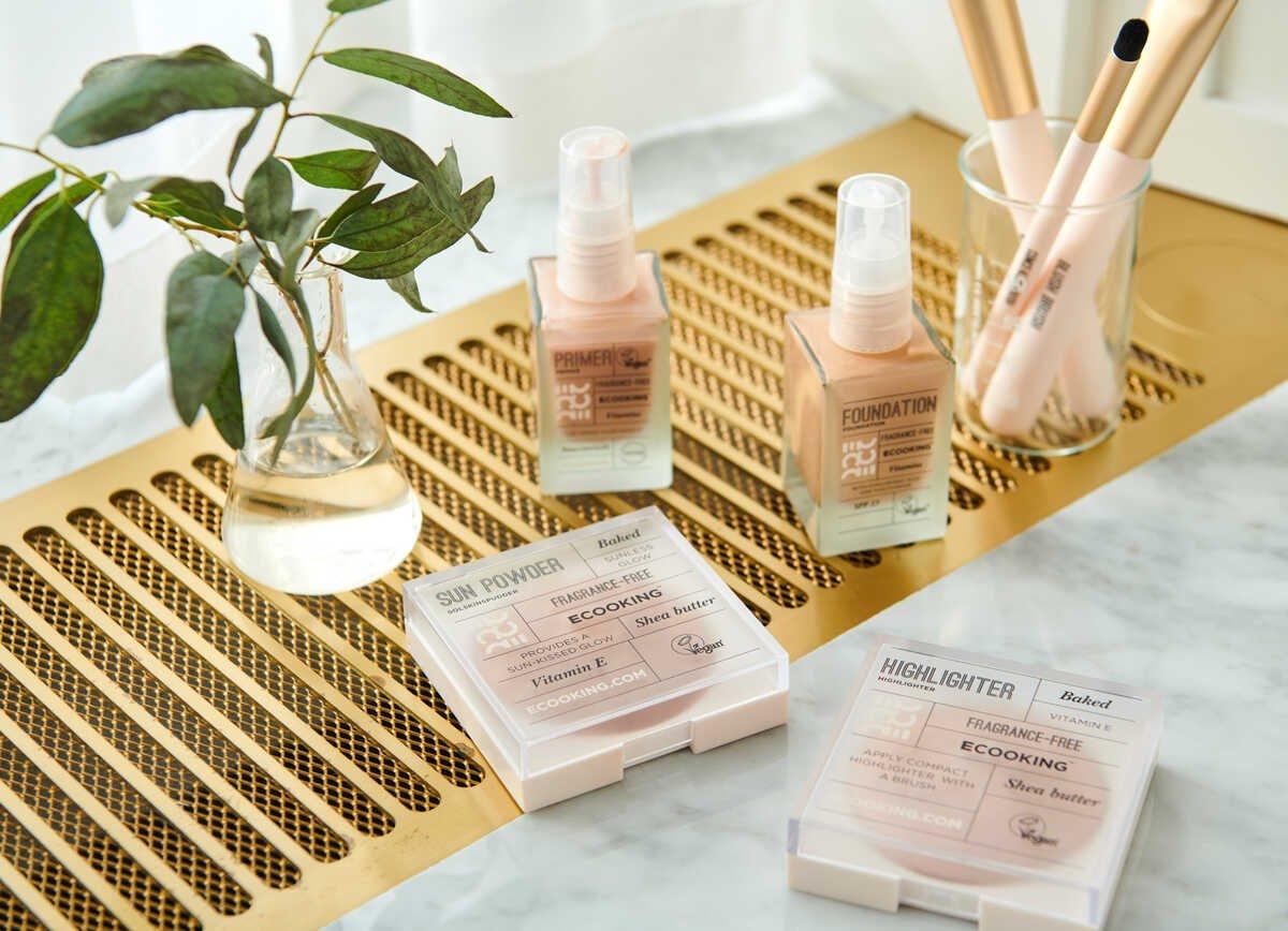 Makeup produkter fra Ecooking