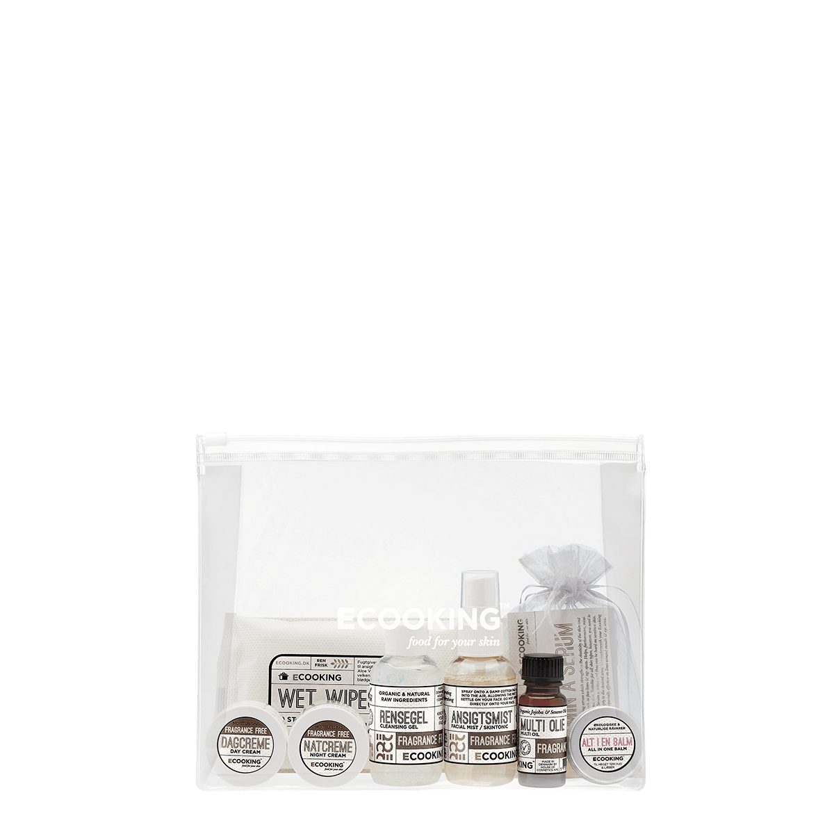 Starterkit med Rensegel Parfumefri