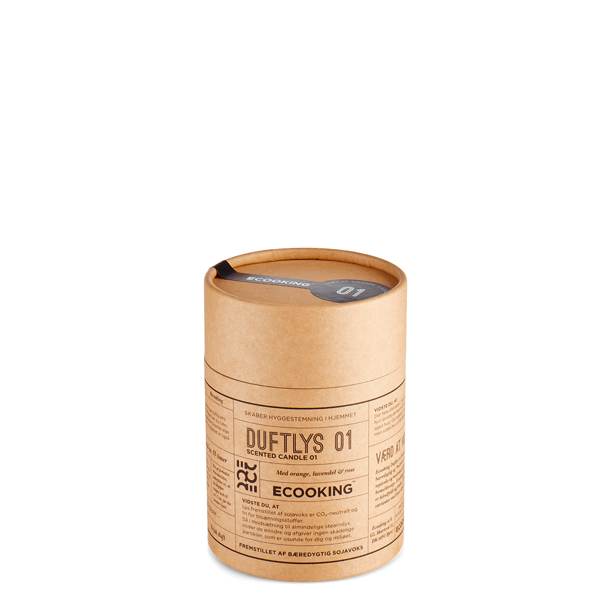 Duftlys 01 220 gram