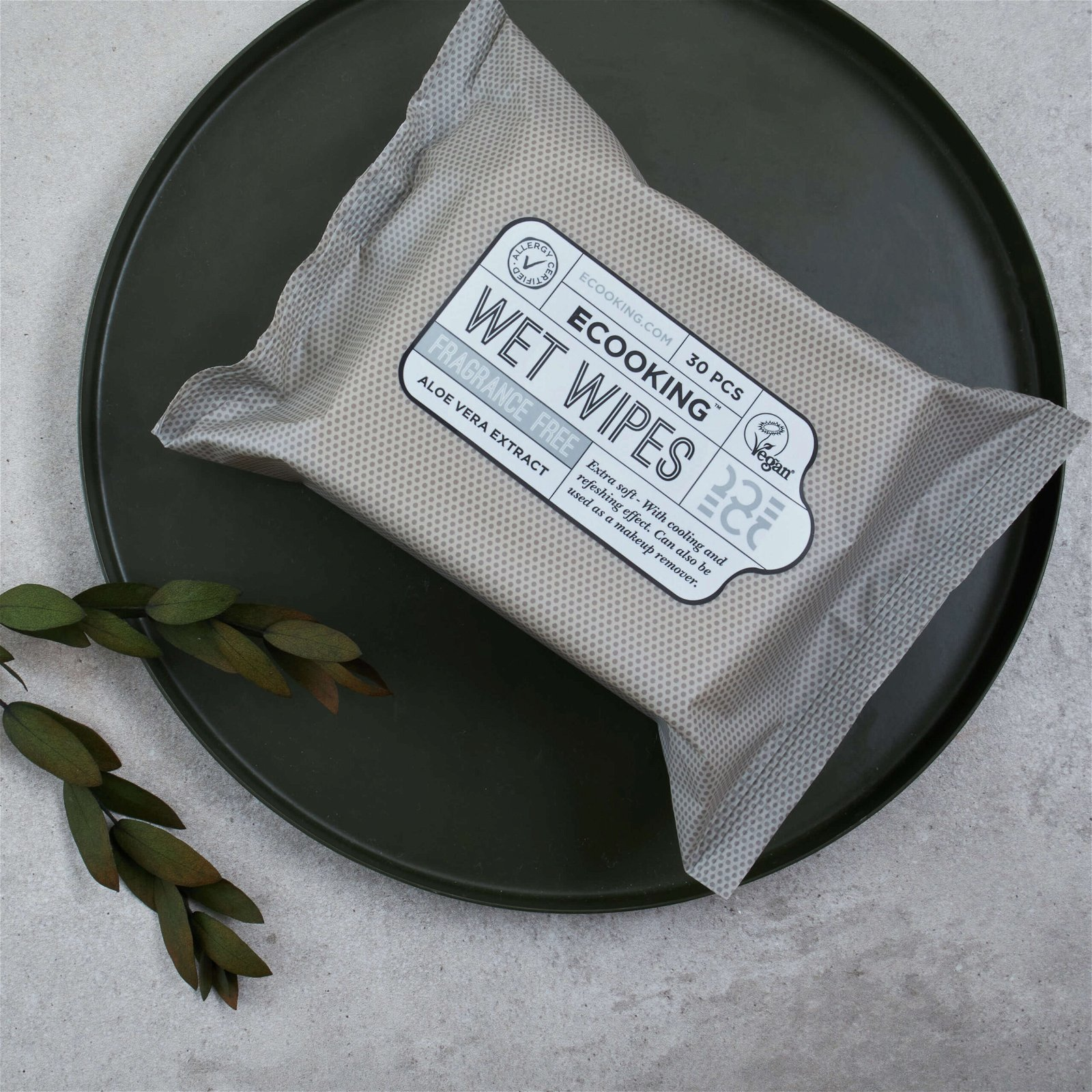 Wet Wipes 30 pcs Fragrance Free