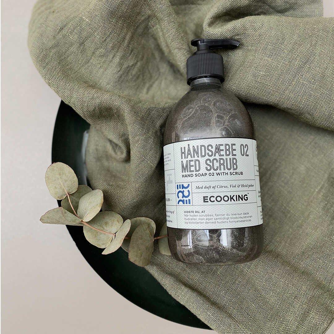 Håndsæbe 02 Med Scrub 500 ml