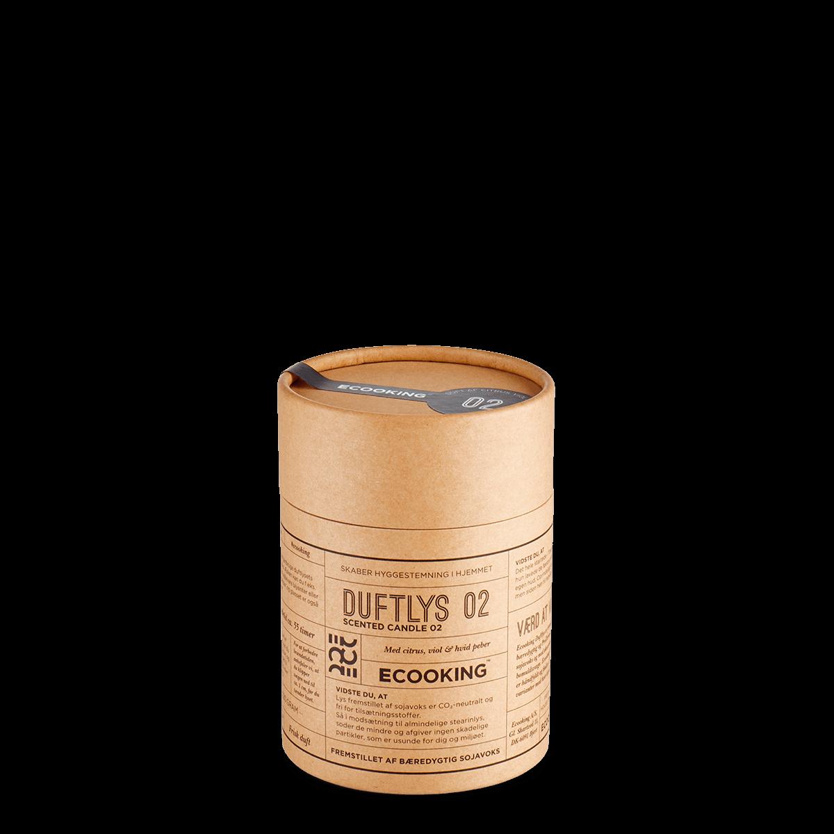 Duftlys 02 220 gram