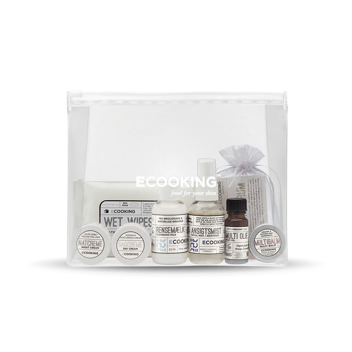 Starter Kit with Cleansing Milk