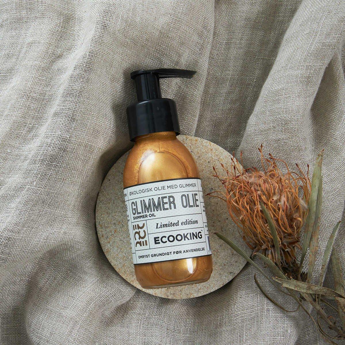 Glimmer Olie - Multi Olie m. Glimmer - 100 ml