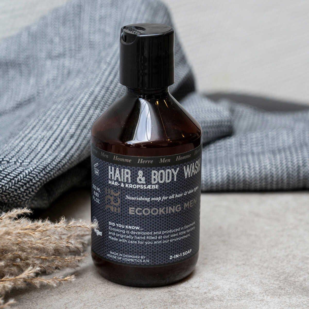 Men Hair & Body Shampoo 250 ml
