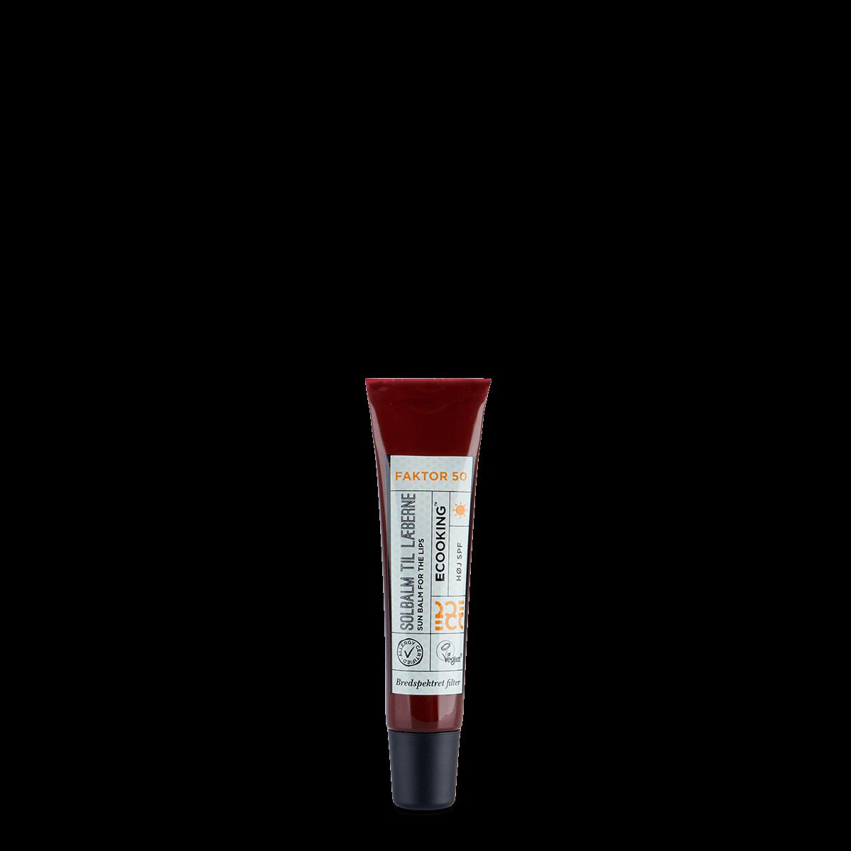 Solbalm til læberne SPF 50 15 ml