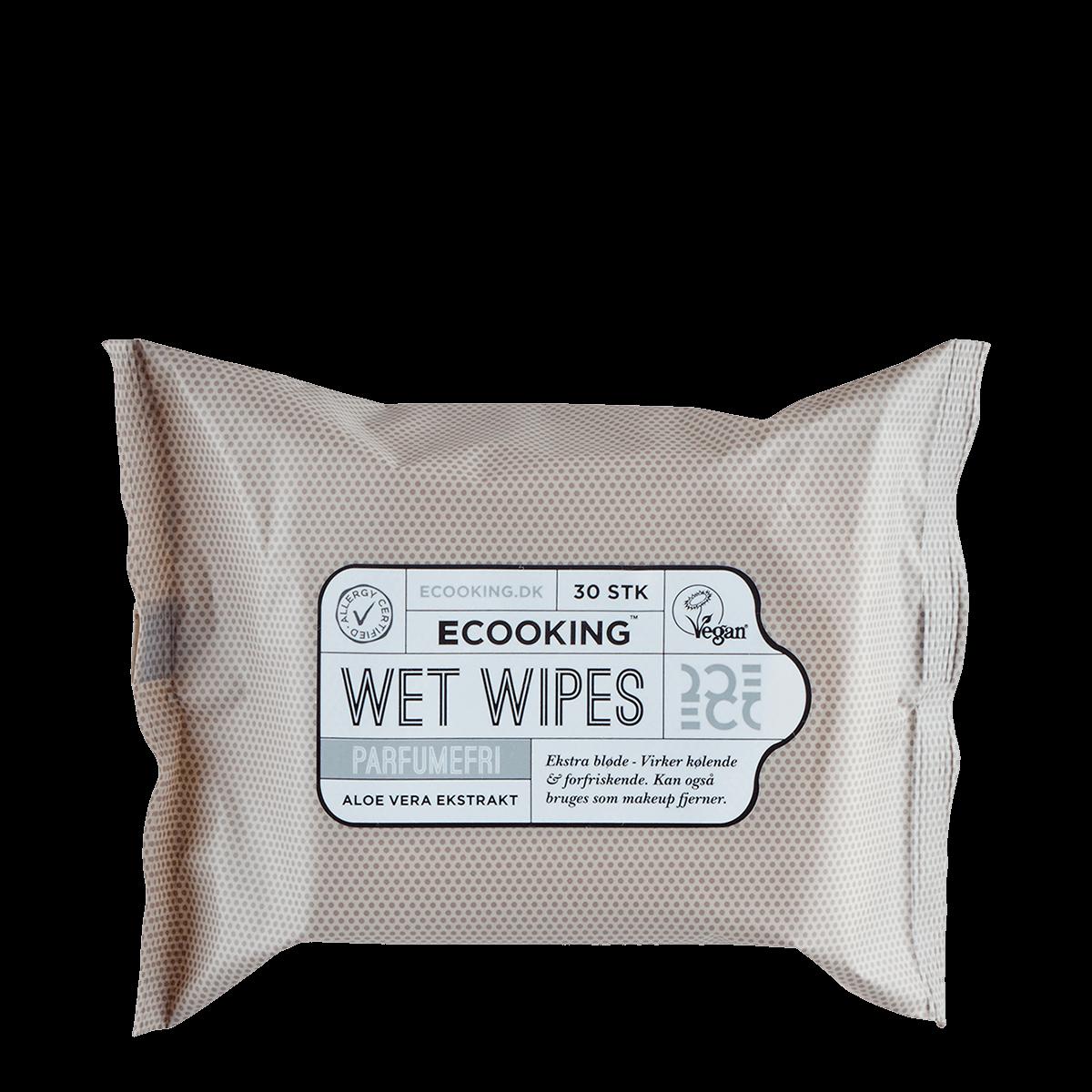 Wet Wipes Parfumefri 30 stk.